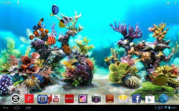 Aquarium Live Wallpaper v3.35