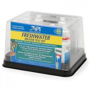 A water test kit will help you maintain high quality water conditions for your fish. Photo by API