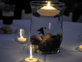 Beta fish Centerpieces